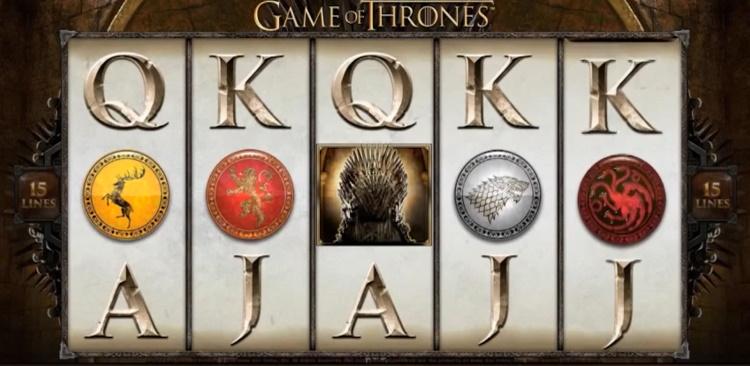 Games of Thrones online videoslot